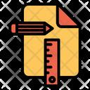Designing Page Designing Equipment Icon