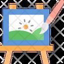 Drawing Art Board Drawing Board Icon