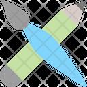 Drawing Brush Creation Icon