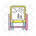 Drawing Easel Artist Board Painting Board Icon