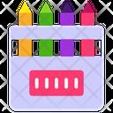Drawing Pencils Icon