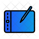 Drawing Tablet Tablet Drawing Icon