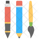 Drawing Tools Design Icon