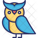 Dreadful Halloween Owl Owl Icon