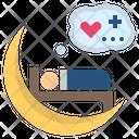 Dream Sleep Moon Icon