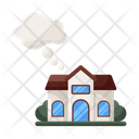 Dream House Sweet Home Fantasy House Icon