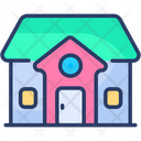 Dream House Family House Love Home Icon