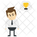 Dreaming success Icon