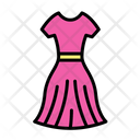 Dress Clothing Clothes Icon