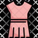 Dress Woman Skirt Icon
