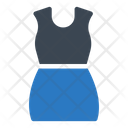 Dress Skirt Cloth Icon