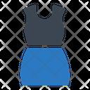 Dress Skirt Cloth Icon
