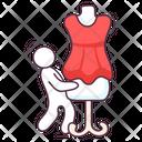 Frock Dress Women Wear Icon