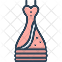 Dress Fashion Cloth Icon