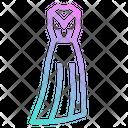 Skirt Long Femenine Icon