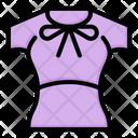 Fashion Girl Clothes Icon