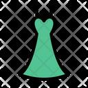 Cloth Dress Ladies Icon
