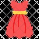 Dress Frock Women Dress Icon