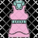 Dress Shirt Female Icon