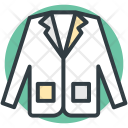 Dress Jacket Coat Icon
