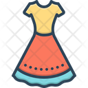 Dress Frok Cloths Icon