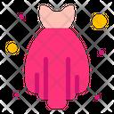 Dress Knitting Fashion Icon