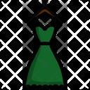 Dress Cloth Fashion Icon
