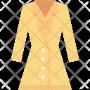 Dress Jacket Lady Icon