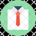 Dress Shirt Tie Icon