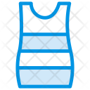 Female Dress Cloth Icon