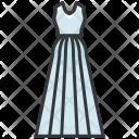 Long White Dress Icon