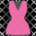 Wrap Dress Women Icon