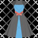 Festive Dress Skirt Icon
