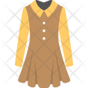 Dress Sleeves Casual Icon