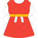Strapless Dress Cloth Icon