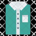 Dress Shirt Cloth Icon