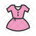 Dress Fashion Cloth Icon