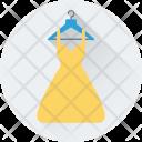 Dress Woman Clothing Icon