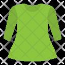 Tunic Dress Clothes Icon