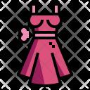 Dress Garment Skirt Icon