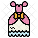 Evening Dress Bride Icon