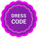 Label Dress Code Icon