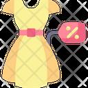 Dress Discount Icon