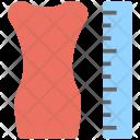 Dress Measurement Size Icon