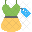 Dress Price Label Icon