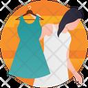 Clothes Shopping Buy Clothes Dress Shopping Icon