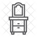Dresser Home Furniture Icon
