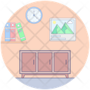 Dresser Cabinets Drawers Icon