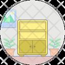 Dresser Cabinet Drawer Icon
