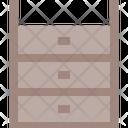 Dresser Bureau Cabinet Icon